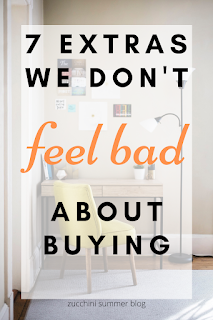 7 things we don't feel bad about buying