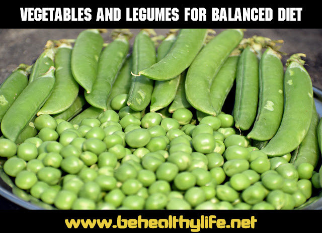 The Balanced diet healthy food
