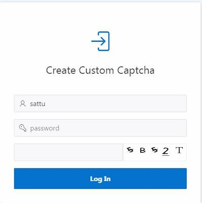 Custom Captcha In Oracle Apex