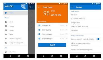 Aplikasi Membuka dan Ekstrak File ZIP / RAR di Android