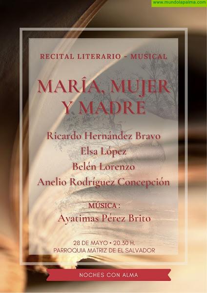 El ciclo 'Noches con Alma' regresa este viernes a Santa Cruz de La Palma con un recital literario-musical