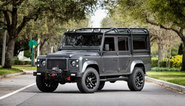 Electric Land Rover Defender accelerates to 100 km/h in 5.5 seconds