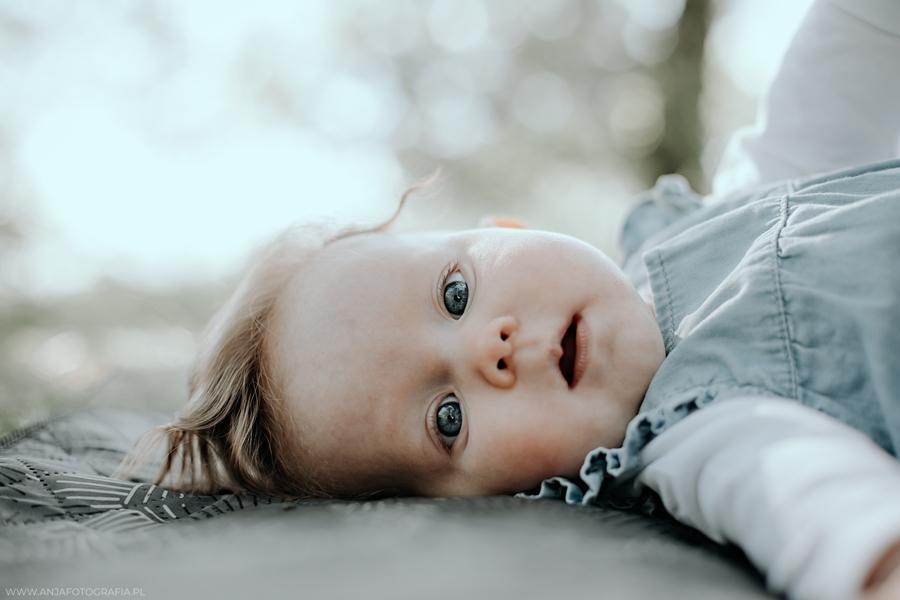 portret dziecka łomianki