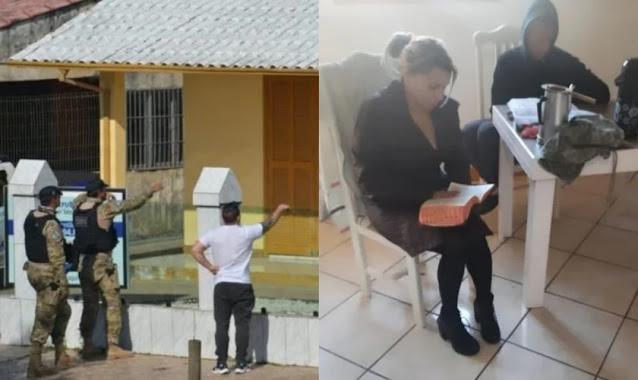 Mulher que foi mantida refém lê a Bíblia para sequestrador em SC