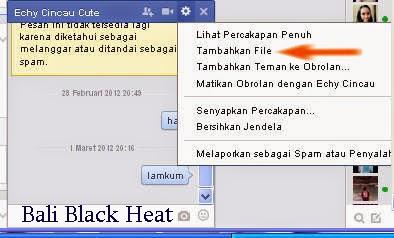 mengirim file lewat chatingan facebook