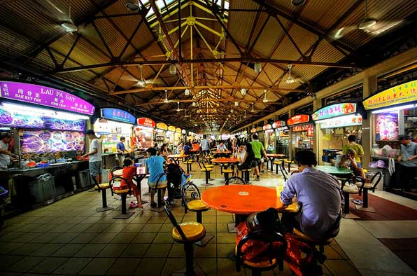 paket liburan murah ke Maxwell Road Hawker Center