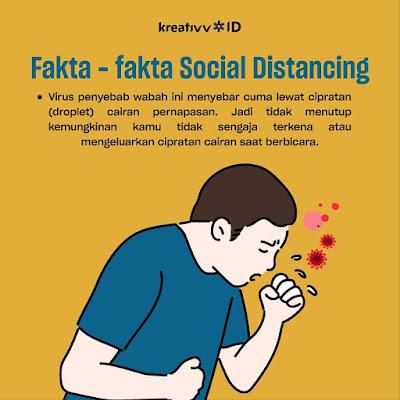 Fakta - fakta Social Distancing