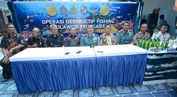 Operasi Satgas Nusantara Bakamla dan Satgas 115 Ini Hasilnya