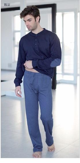 piżama_męska_włoska_bielizna_rzymskie_zakupy_Enrico_coveri
