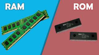 Perbedaan RAM dan ROM pada komputer