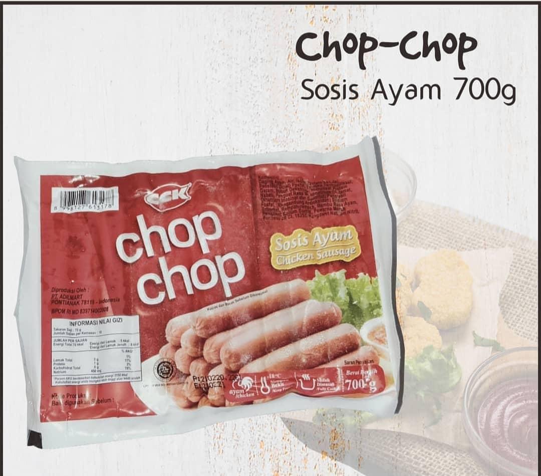 Sosis Ayam Merk Chop-Chop 700 Gram