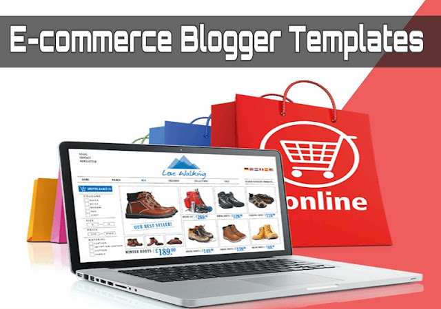 Best Free Ecommerce Blogger Templates 2020