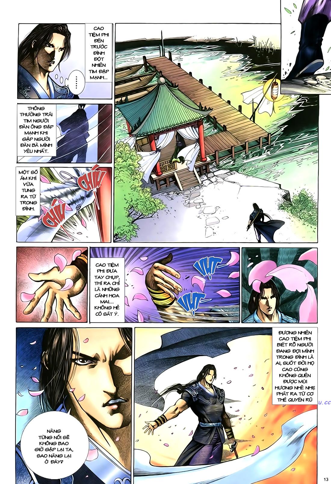 Anh hùng vô lệ Chap 18 trang 14
