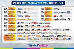 Harga Paket Mini Pack Transvision