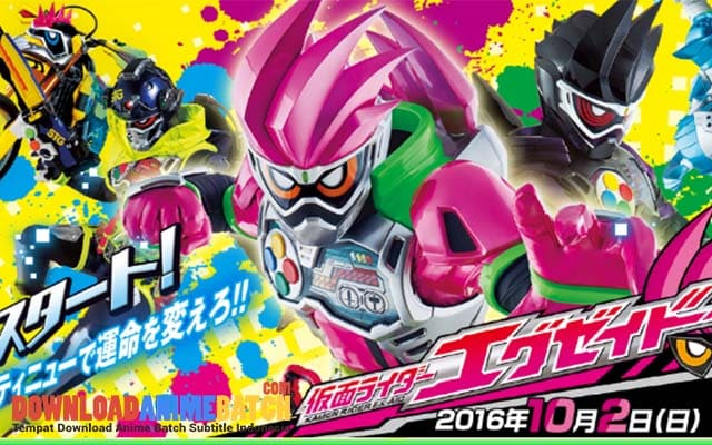 Download Kamen Rider Ex-Aid Sub Indo Batch