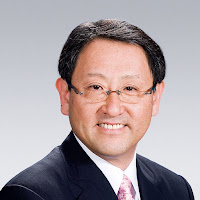 Akio Toyoda Japanese business executive and the current president of Toyota Motor Corporation