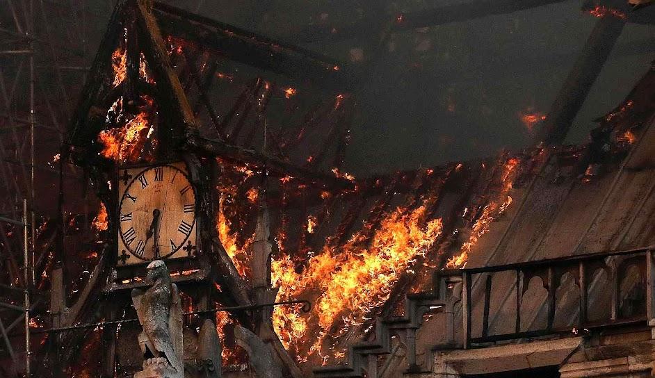 Incêndio de Notre Dame de Paris, 19 de abril de 2019