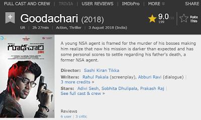ఒకేసారి రెండు తెలుగు సినిమాలకు IMDB 9+ రేటింగ్
