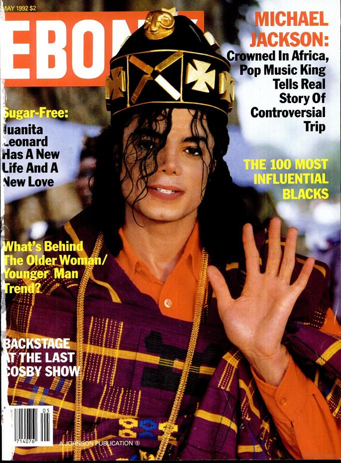 Thoughts of Michael J  Jackson: Ebony 1992