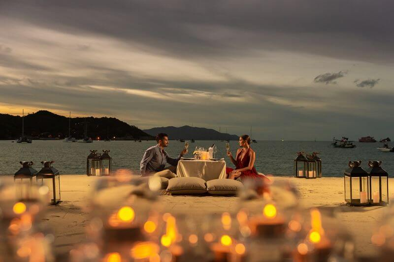 Award-Winning Chef Unveils Romantic Dinner at Melia Koh Samui