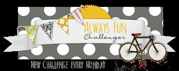 http://alwaysfunchallenges.blogspot.com/2019/12/challenge-143.html