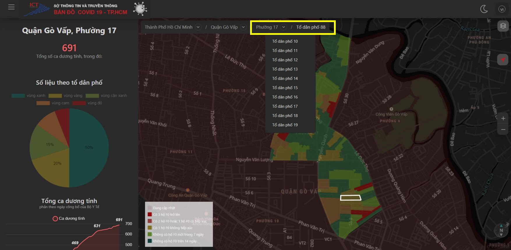 Làm sao biết khu vực mình thuộc vùng xanh hay vùng đỏ?