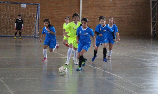 Liga de futsal escolar realizado en Osorno