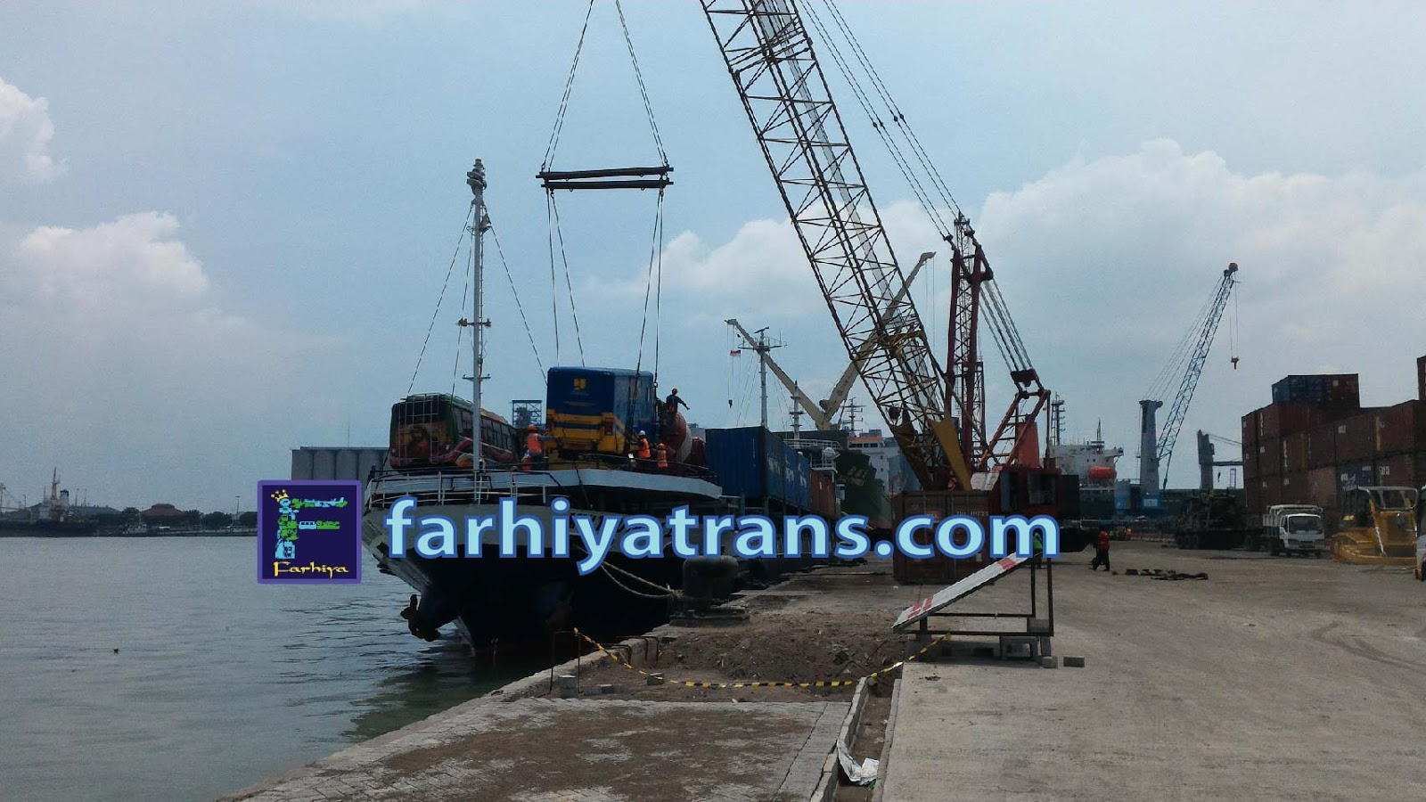 ekspedisi jasa kirim truk bus cargo kapal laut kupang surabaya maumere ende labuan bajo lembar ambon sorong