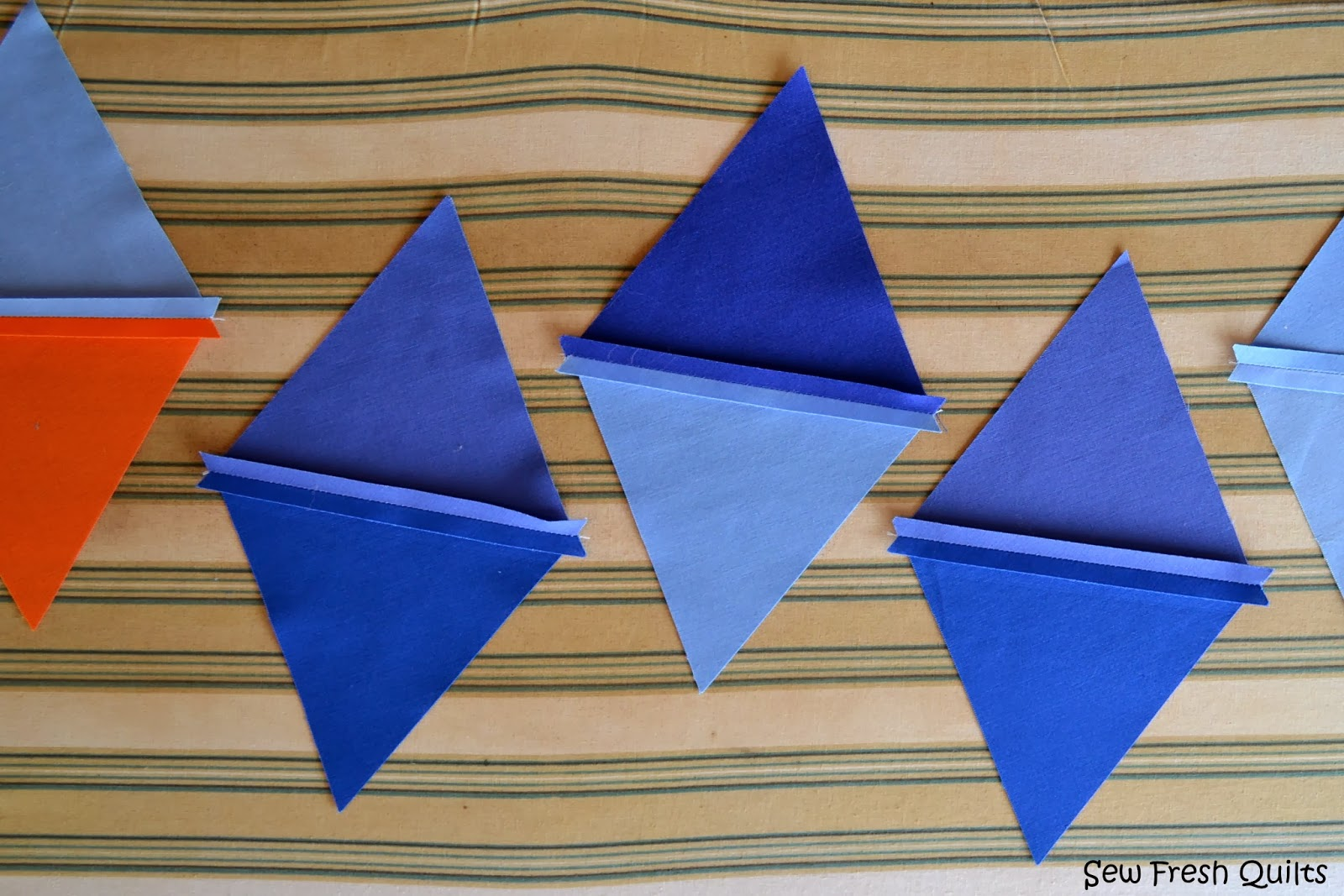 Sew Fresh Quilts: Equilateral Triangle Quilt Tutorial - Part 2 : equilateral triangle quilt tutorial - Adamdwight.com