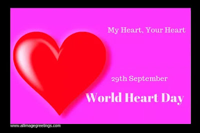 world heart day poster