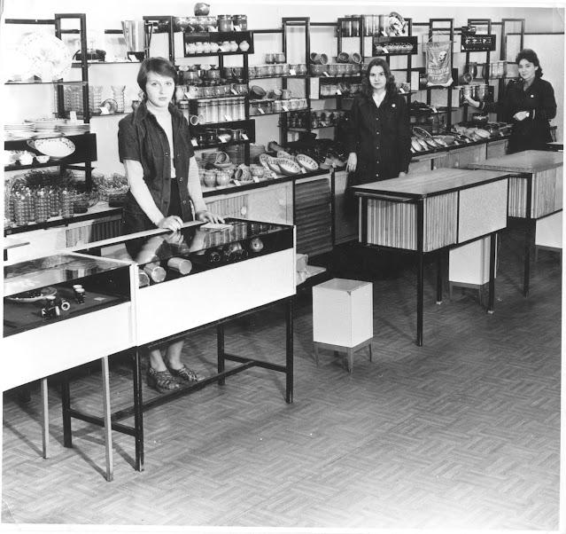 1970-е годы. Рига. Торговый отдел магазина Sakta.