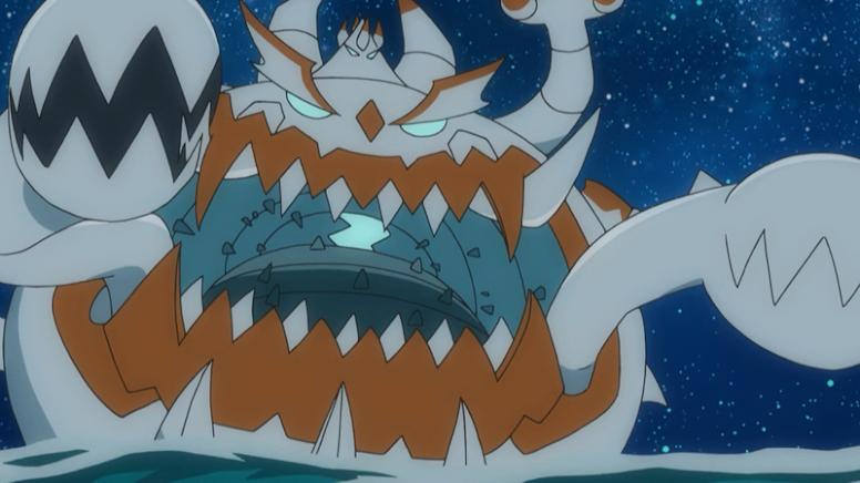 Guzzlord Shiny Anime Pokémon