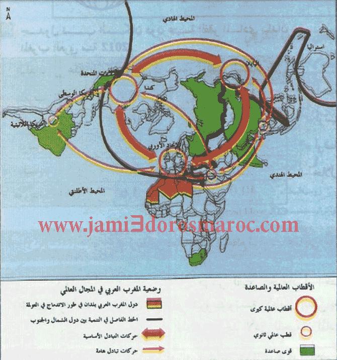 وضعية التكتل الإقليمي لبلدان اتحاد المغرب العربي في المجال العالمي