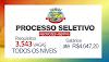 Processo seletivo simplificado com abre 3.543 vagas para TODOS OS NÍVEIS de escolaridade!
