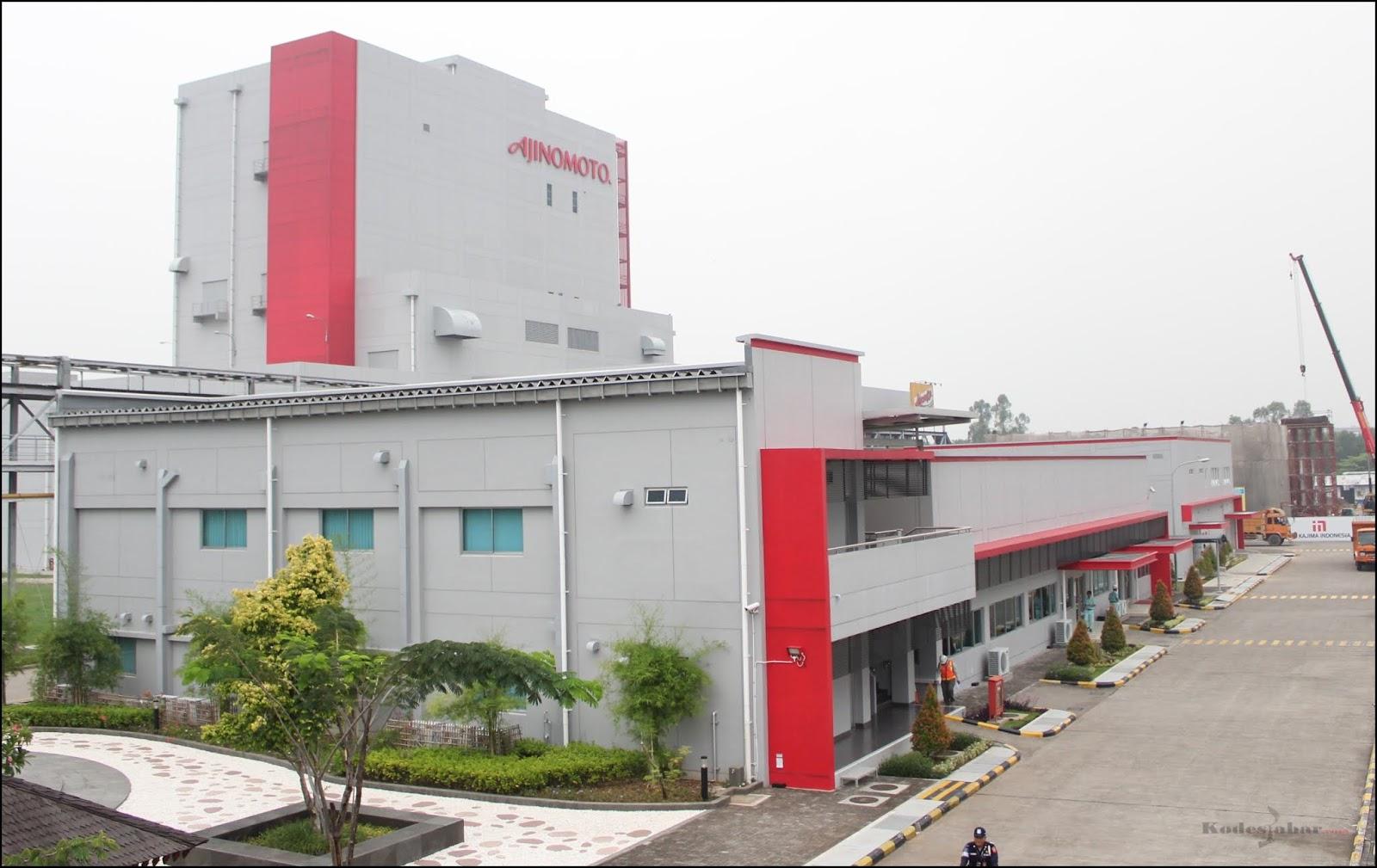 Jelajah Dapur Umami Pabrik Ajinomoto Karawang