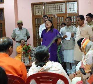 MP Menka Gandhi Gets Her Area Electrified Uttar Pradesh