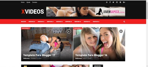 Template Blogger Xvideos