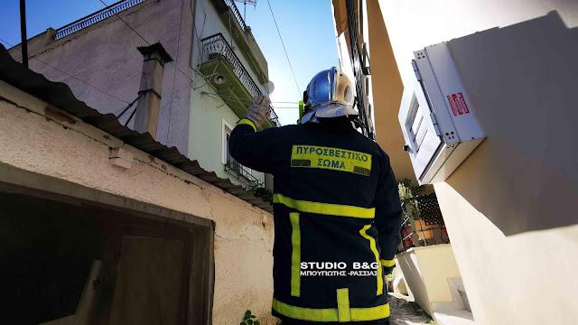 Πυρκαγιά σε καμινάδα οικίας στο Ναύπλιο ανησύχησε την πυροσβεστική