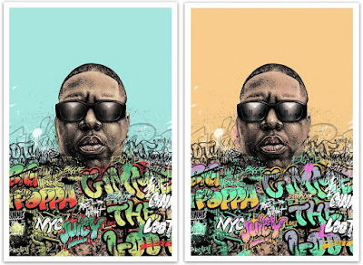 "The Notorious B.I.G. ""Ready to Die"" 26th Anniversary Screen Print by Paul Jackson x Collectionzz"