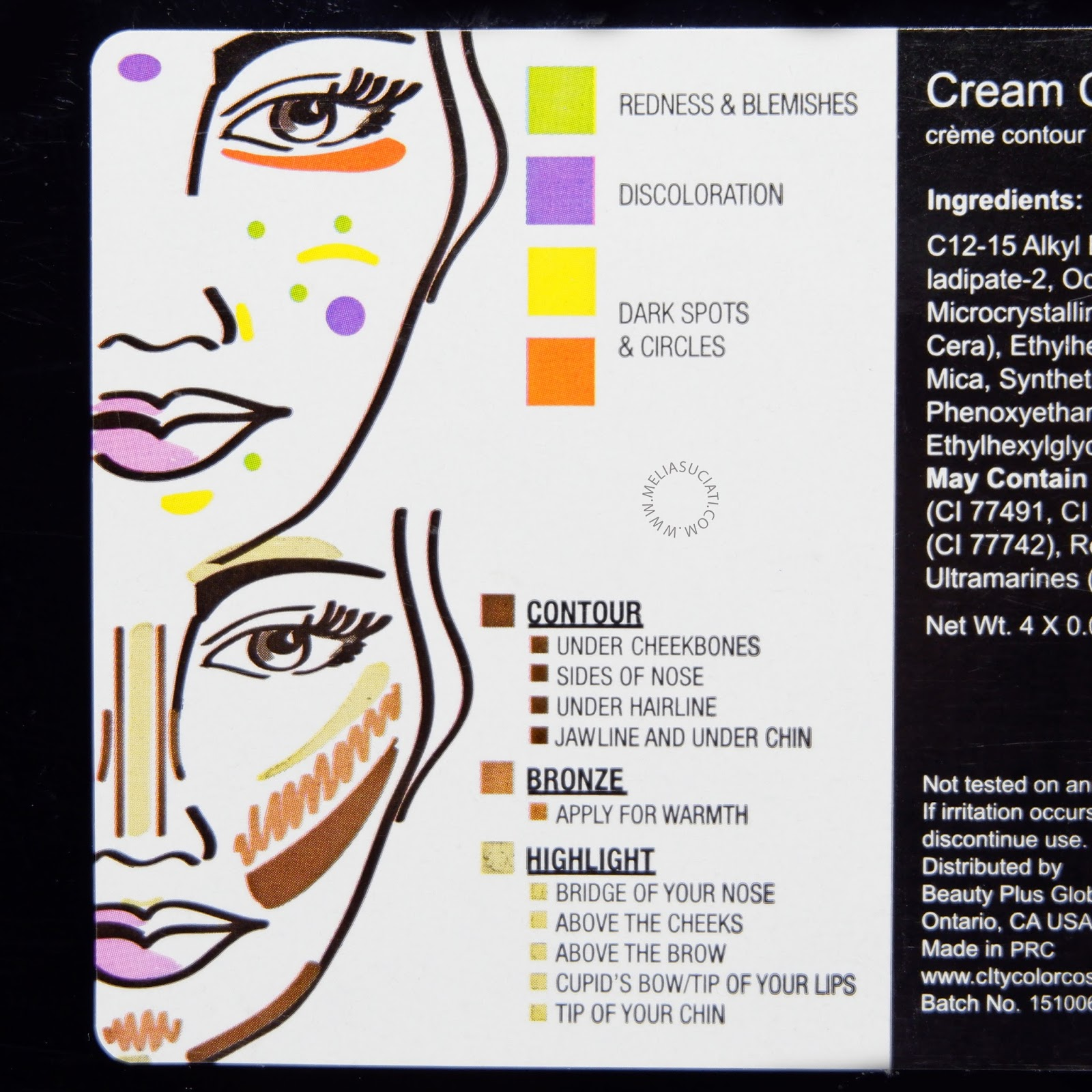 Review City Color Contour dan Correct Cream Palette