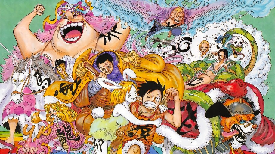 One Piece Characters 4k Wallpaper 6 124