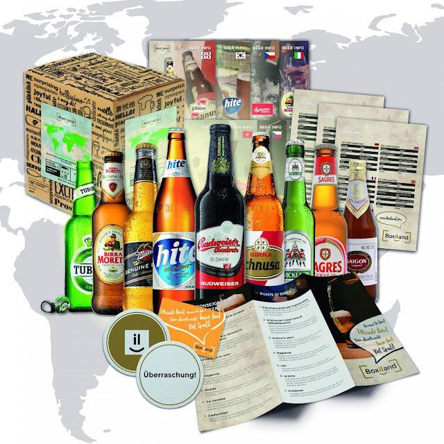 tour du monde de la bière coffret
