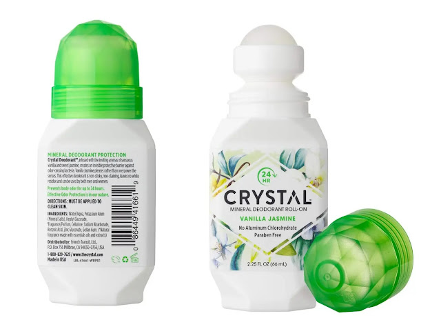 Crystal Mineral Deodorant Roll-On Vanilla Jasmine review