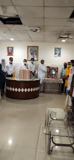 राजीव गांधी का जन्म दिवस सद्भावना दिवस के रूप मनाया गया
