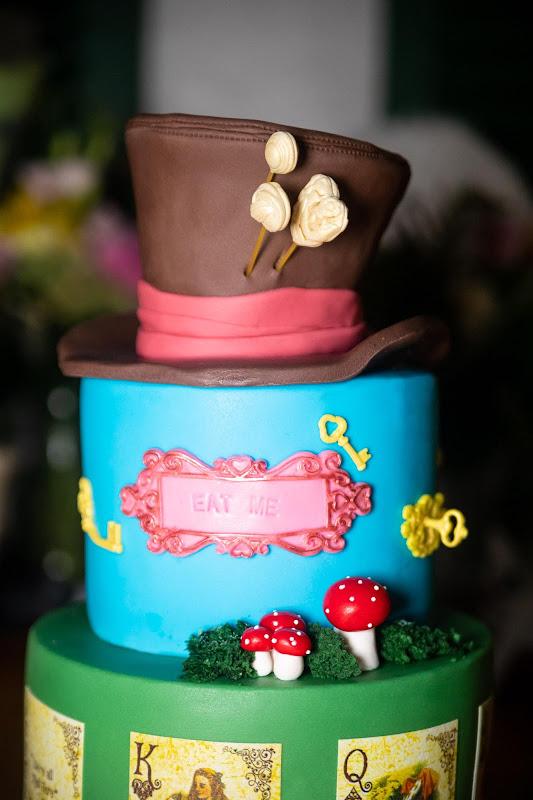Alice im Wunderland Torte
