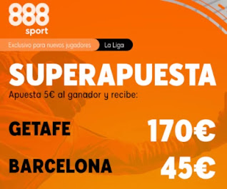 888sport superapuesta Getafe vs Barcelona 17-10-2020