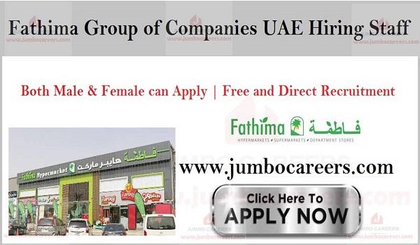 Latest walk in interview jobs in Dubai, Urgent UAE jobs,