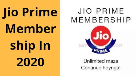 Jio Prime Membership Benefits and Plans or Terms & Conditions in 2020