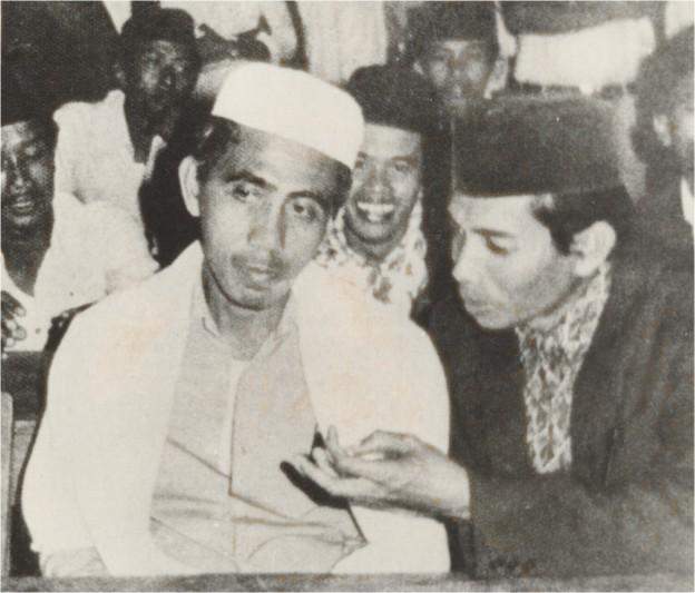 Foto-foto Mbah Maimoen di masa mudanya