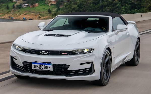 Novo Camaro 2021